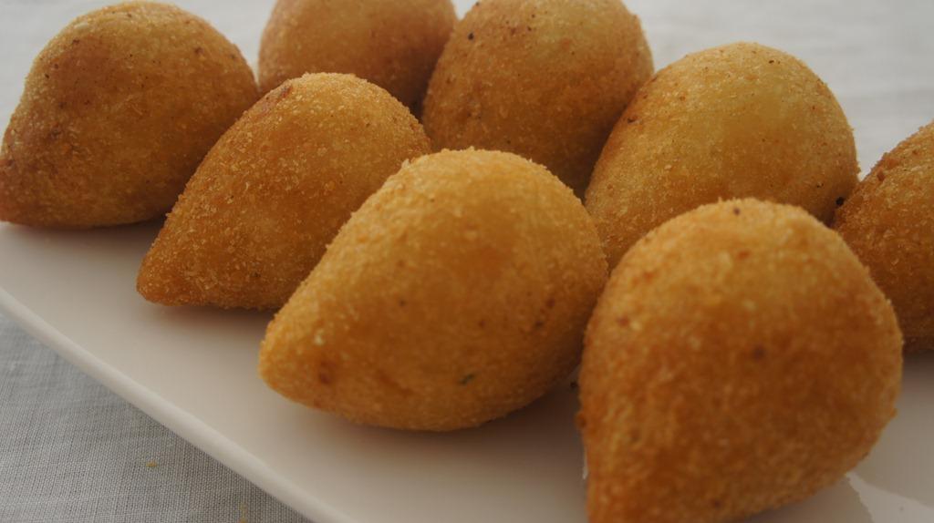 Coxinha de Frango–Unidade 3  Gastronomia Anhembi Morumbi Sandra